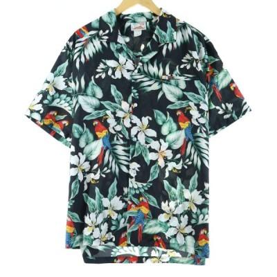 EVERGREEN ISLAND アロハシャツ ハワイ製 L /eaa019559