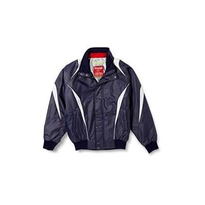 人気★[エスエスケイ] ジャケット 蓄熱グラウンドコート フロントフルZIP+ボタン比翼付き(中綿) メンズ ネイビー×シルバーグレー (7095)