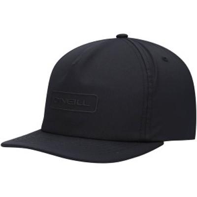 オニール メンズ 帽子 アクセサリー O'Neill Hybrid Snapback Hat Black