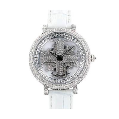 アンコキーヌ ネオ Anne Coquine Neo レディアルバ クリア L1-1A ホワイト文字盤 新品 腕時計 レディース (L1-1