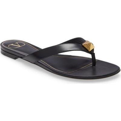 ヴァレンティノ VALENTINO GARAVANI レディース サンダル・ミュール シューズ・靴 Roman Stud Sandal Nero