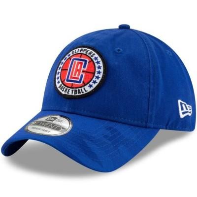 ユニセックス スポーツリーグ バスケットボール LA Clippers New Era 2018 Tip-Off Series 9TWENTY Adjustable Hat - Royal - OSFA