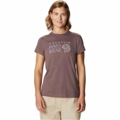マウンテンハードウェア Mountain Hardwear レディース Tシャツ ロゴTシャツ トップス MHW Logo SS Tee Warm Ash