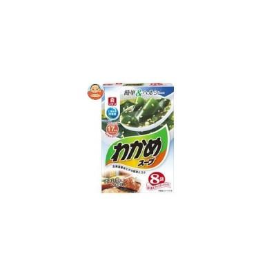 理研ビタミン わかめスープ わくわくファミリーパック 8袋入 (6.1g×8袋)×6箱入