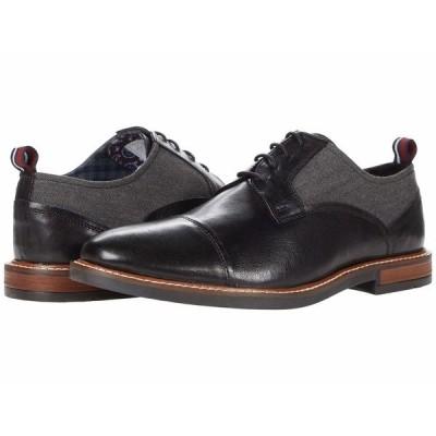 ベンシャーマン オックスフォード シューズ メンズ Brent Cap Toe Black Leather
