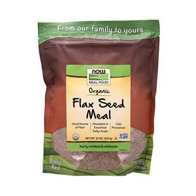 [海外直送品] ナウフーズ Flax Seed Organic Meal Meal 22 oz