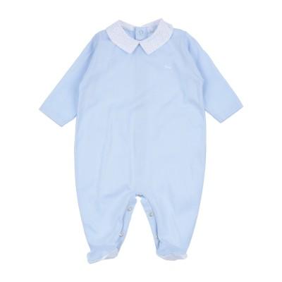 HARMONT&BLAINE 乳幼児用ロンパース スカイブルー 12 コットン 100% 乳幼児用ロンパース