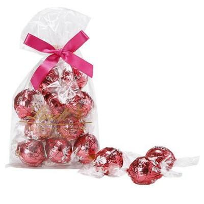 リンツ(Lindt)チョコレート リンドール ストロベリー&クリーム 10個