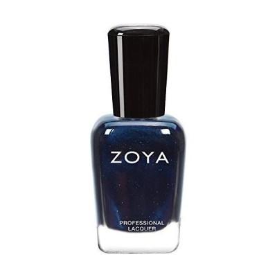 ZOYA ゾーヤ ネイルカラー ZP415 INDIGO インディゴ 15ml 深いインディゴブルー マット・グリッター/メタリック 爪にや