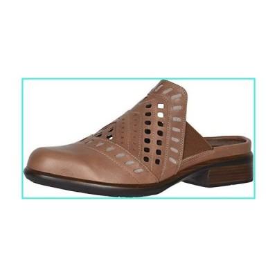 【新品】NAOT Footwear Women's Sharkia Clog Mocha Rose Lthr/Stone Nubuck 8 M US(並行輸入品)