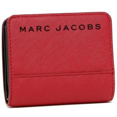 マークジェイコブス 折財布 ミニ財布 アウトレット レディース MARC JACOBS M0015163 622 レッド