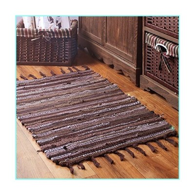 "B&Y Handmade Laundry Room Area Rag Rugs for Kitchen, Bathroom, Entry Way, Hallway and Bedroom 44"" x 26"""