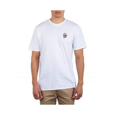 Hurley ハーレー メンズ 男性用 ファッション Tシャツ Red, White & Brew Short Sleeve - White
