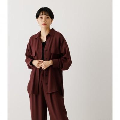 LOOSE POCKET SHIRT/ルーズポケットシャツ /レディース/トップス シャツ ブラウス  長袖【MARKDOWN】
