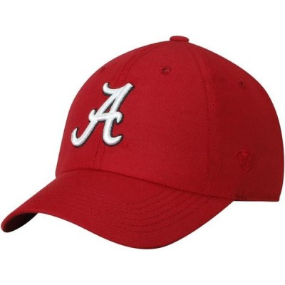 ユニセックス スポーツリーグ アメリカ大学スポーツ Alabama Crimson Tide Top of the World Primary Logo Staple Adjustable Hat - Cr