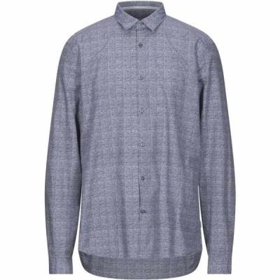 カルバンクライン CALVIN KLEIN メンズ シャツ トップス Patterned Shirt Blue
