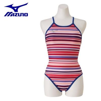 ミズノ トレーニング水着 レディース 競泳練習用 Rikako Ikee Collection ミディアムカット N2MA9760-67 MIZUNO