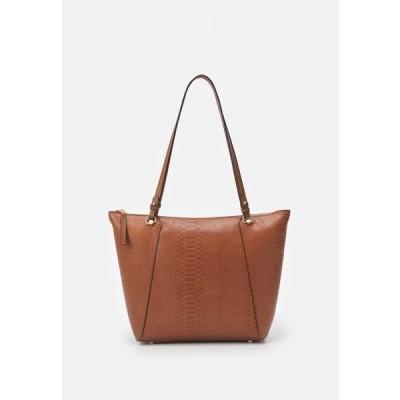 レディース アクセサリー SHOPPER BAG SNAKIE SET - Tote bag - camel