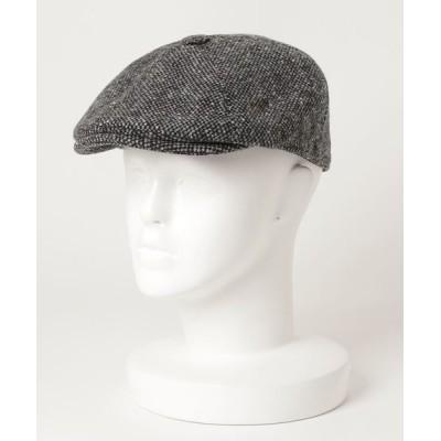 SHIPS / GRILLO: ホームスパン ニュースペーパー キャップ MEN 帽子 > ハンチング/ベレー帽