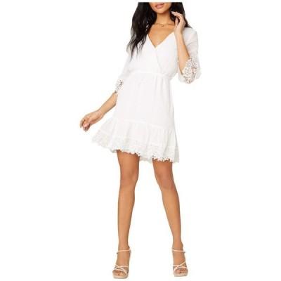 ビービーダコタ レディース ワンピース トップス Chiffon On The Spot Swiss Dot Textured Chiffon Dress