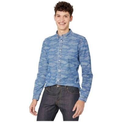 ポールスミス Paul Smith メンズ シャツ トップス Long Sleeve Tailored Fit Shirt Blue/White