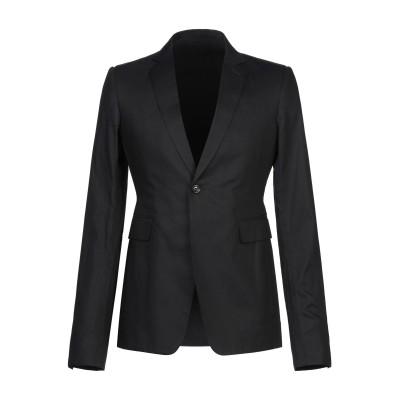 リック オウエンス RICK OWENS テーラードジャケット ブラック 48 コットン 100% テーラードジャケット