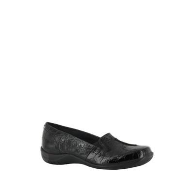 イージーストリート レディース サンダル シューズ Purpose Comfort Flat - Multiple Widths Available BLACK