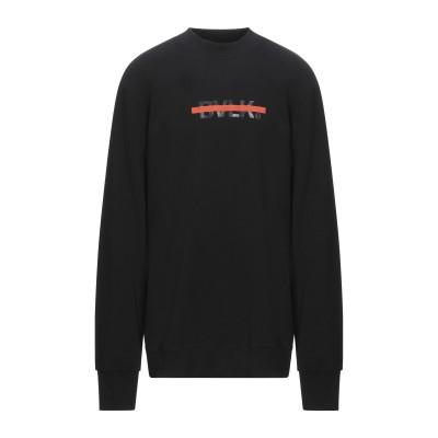 BULK スウェットシャツ ブラック XXL コットン 100% スウェットシャツ