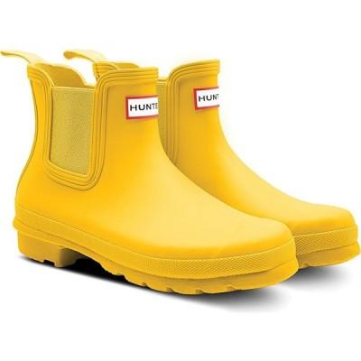 ハンター HUNTER レディース レインシューズ・長靴 チェルシーブーツ シューズ・靴 Original Waterproof Chelsea Rain Boot Yellow/Yellow