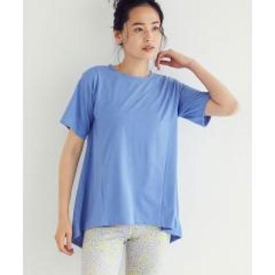 NERGY(ナージー)【24H快適】【UV&吸水速乾】バックスリットTシャツ【お取り寄せ商品】