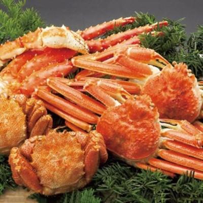 かに 新 三大茹で蟹セット | タラバ&ずわいがに fn19-03