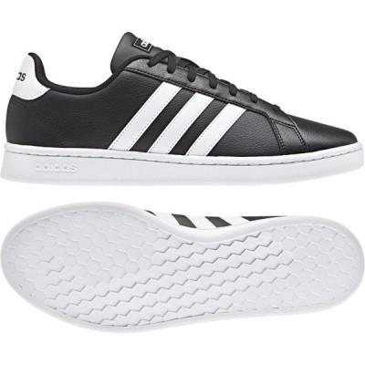 アディダス adidas スニーカー メンズ・ユニセックス  AJP-F36393 GRANDCOURT LEA U (F36393)コアブラック/ホワイト/ホワイト レディース 靴 シューズ 21SP