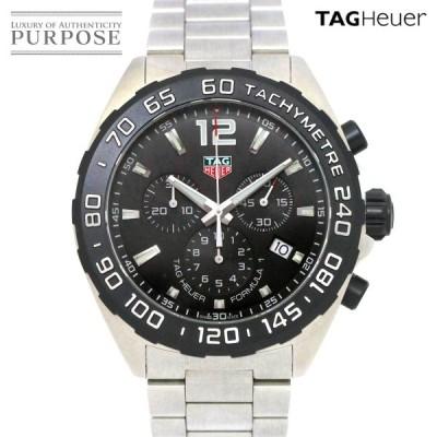タグホイヤー TAG Heuer フォーミュラ1 CAZ1010 クロノグラフ メンズ 腕時計 デイト ブラック 文字盤 クォーツ ウォッチ