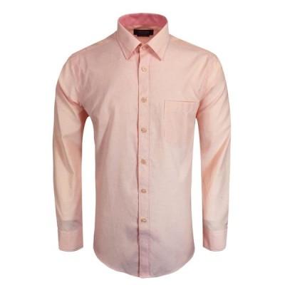 パコリーノ メンズ シャツ トップス Casual Smart Long Sleeve Shirt orange