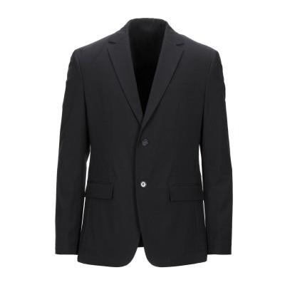 カルバン クライン CALVIN KLEIN テーラードジャケット ブラック 50 ポリエステル 85% / ポリウレタン 15% テーラードジャケ