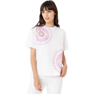 ポールスミス Paul Smith レディース Tシャツ トップス PS Sundial Print Tee Shirt White