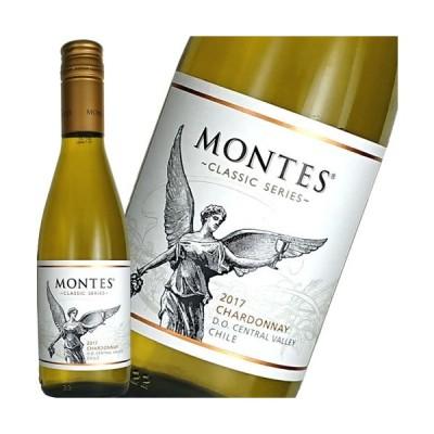 白ワイン モンテス クラシック シャルドネ ハーフ 375ml チリ ギフト プレゼント(715126900225)