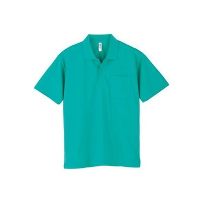 [グリマー] 半袖 4.4オンス ドライ ポロシャツ [ポケット付] ミントブルー 日本 M (-)
