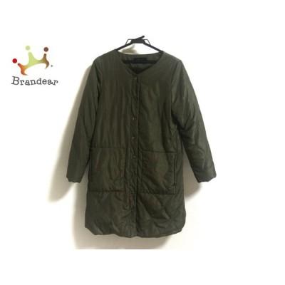 ゼラール zelal コート サイズ9 M レディース 美品 グリーン 冬物/Sports   スペシャル特価 20210122