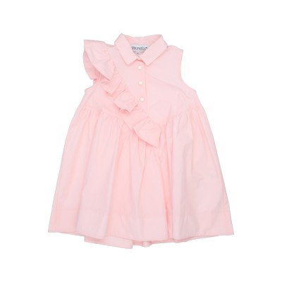 SIMONETTA ワンピース&ドレス ピンク 10 コットン 100% ワンピース&ドレス