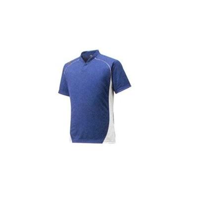 ミズノ(MIZUNO) BBシャツハーフボタンコエリ GE 12JC6L11 カラー:76 サイズ:M