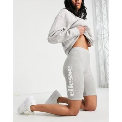 エレッセ レディース ハーフパンツ・ショーツ ボトムス ellesse legging shorts in gray