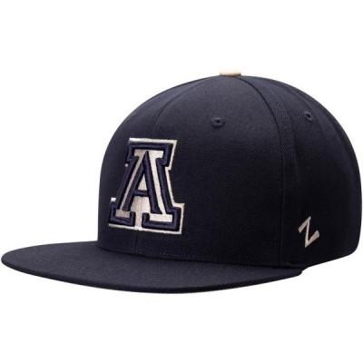 ユニセックス スポーツリーグ アメリカ大学スポーツ Arizona Wildcats Zephyr Sepia Adjustable Hat - Navy - OSFA 帽子