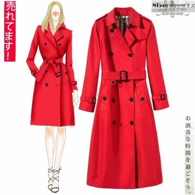 トレンチコート レディース ファッション アウター 春夏 20代 30代 40代 オフィスカジュアル 通勤 大きいサイズ