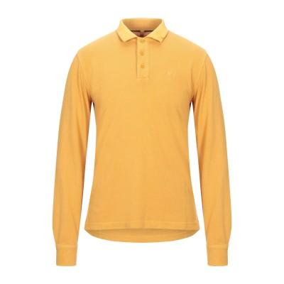 サンシックスティエイト SUN 68 ポロシャツ オークル M コットン 100% ポロシャツ