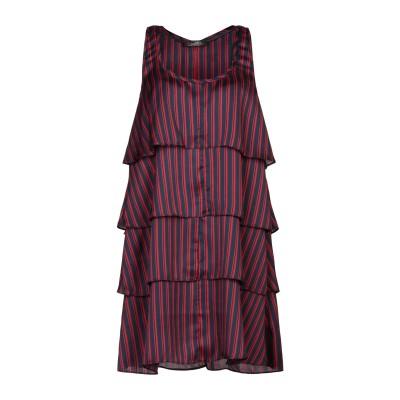 SOALLURE ミニワンピース&ドレス ダークブルー 44 ポリエステル 100% ミニワンピース&ドレス