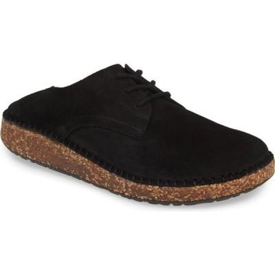 ビルケンシュトック BIRKENSTOCK レディース ローファー・オックスフォード ダービーシューズ シューズ・靴 Gary Convertible Derby Black Suede