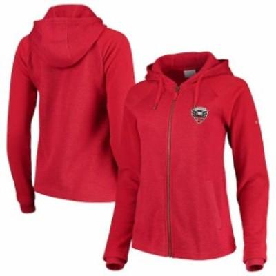 Columbia コロンビア スポーツ用品  Columbia D.C. United Womens Red Darling Days Full-Zip Jacket