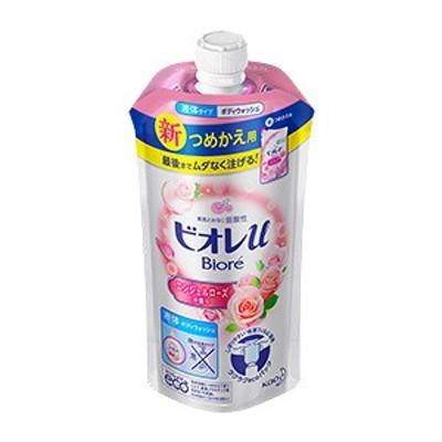 ビオレu エンジェルローズの香り つめかえ用 340mL[配送区分:A]