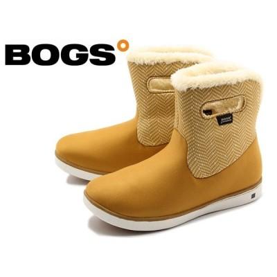 訳あり品 ボグス ウォータープルーフ ショート ブーツ 78410A 267 女性用 ボーンブラウンマルチ 24.0cm 39 BOGS bs007